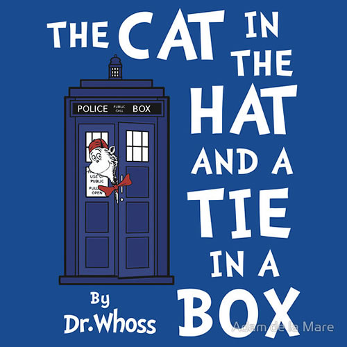 The Cat in the Hat in a Tie and a Box