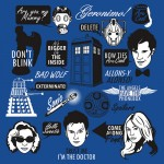 Doctor Who Quotes Tshirt