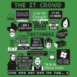 The IT Crowd Quotes Tshirt