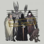 The Usual Middle Earth Suspects Tshirt