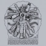 Vitruvian Machine Tshirt
