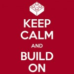 Keep Calm and Build On Tshirt