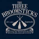 The Three Broomsticks Tshirt
