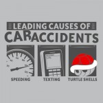 Leading Causes of Accidents Tshirt