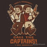 Call The Captains Tshirt