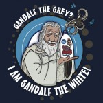 Gandalf the White Detergent Tshirt