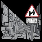 Low Flying Spacecraft Tshirt