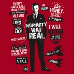 Moriarty Quotes Tshirt