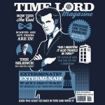 Time Lord Magazine Tshirt