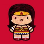 Chibi-Fi Wonder Woman Tshirt