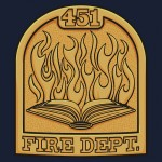 Fire Department 451 Tshirt