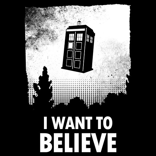 I Want To Believe T Shirt By Lynn Lamour