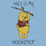 This is my Poohstick