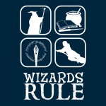 Wizards Rule Tshirt