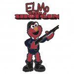 Elmo with a Shotgun
