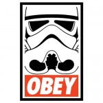 OBEY Storm Trooper Tshirt