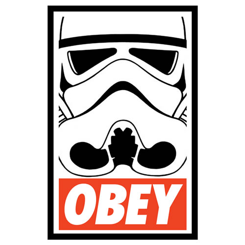 OBEY Storm Trooper