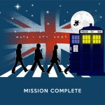 Beatles feat. Dr.Who – Mash Up Tshirt