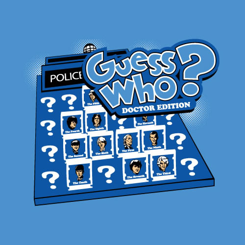 Guess Who – Doctor Edition