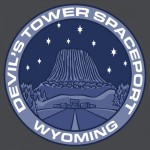 Devil's Tower Spaceport Tshirt