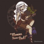 Dragon Momma Pin Up Tshirt