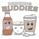 Drinking Buddies Tshirt