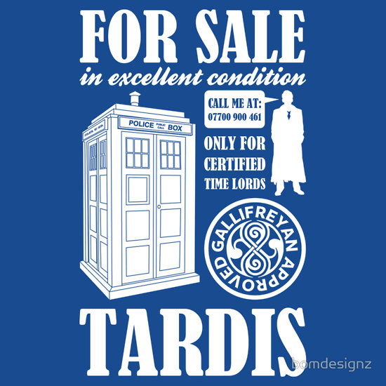 For Sale Tardis
