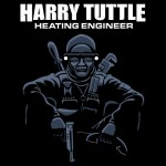 Harry Tuttle – Heating Engineer Tshirt