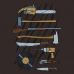 Horrible Weapons Tshirt
