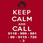 Moss Keep Calm And Call Tshirt