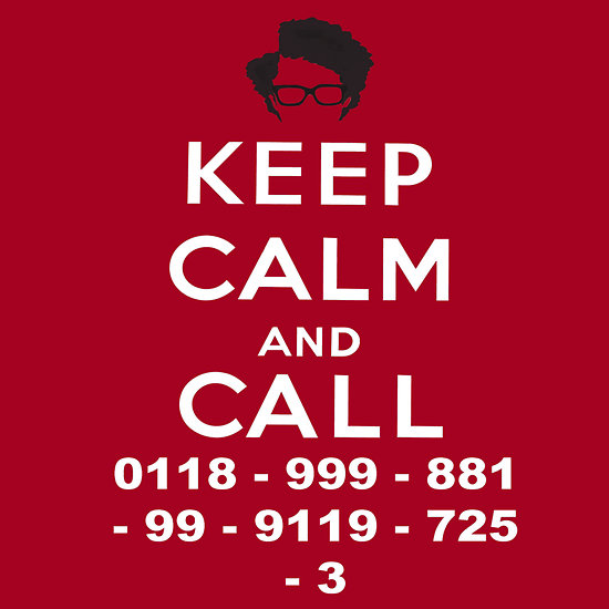Moss Keep Calm And Call