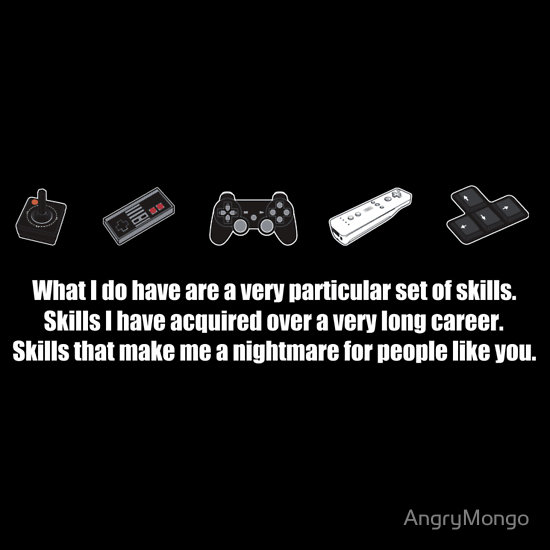 Particular Set of Gaming Skills Dark
