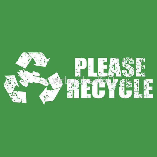 Please Recycle - Our Ship