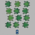 Revenge of the Frogs Tshirt