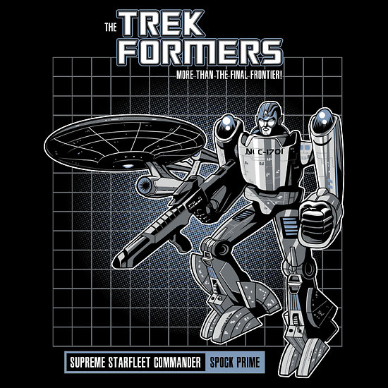 Spock Prime the Trek Former