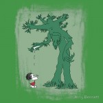 The Giving Treebeard Tshirt