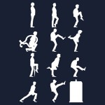 The TaRDiS of Silly Walks (White) Tshirt