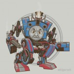 Thomas The Assault Engine w/o text Tshirt