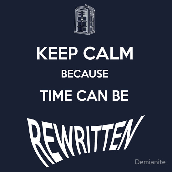 Time can be rewritten