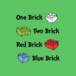 One Brick, Two Brick Tshirt