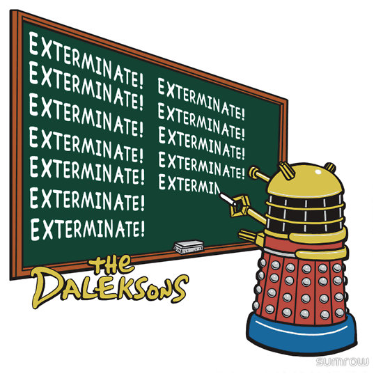 The Daleksons (w/Title)