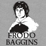 The Fellowship – Frodo Baggins Tshirt