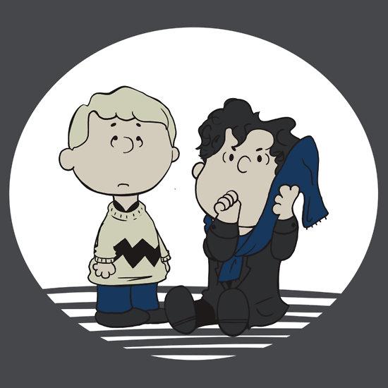 A Regular Blanket-Toting Sherlock Holmes