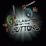 Clash of the BUTTONS Tshirt