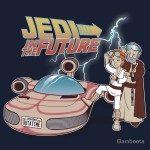 Jedi in the Future Tshirt