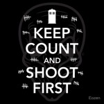 Keep Count and Shoot First Tshirt