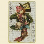Mad Hatter Joker Card Tshirt