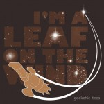 Leaf on the Wind – Browncoats Edition Tshirt