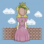 The Princess of Peach Tshirt