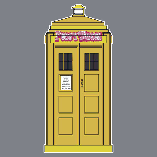 """""""The Bride has the phonebox.."""
